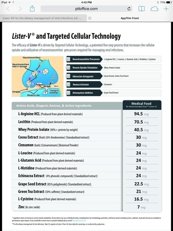 Lister-V and Targeted Cellular Technology
