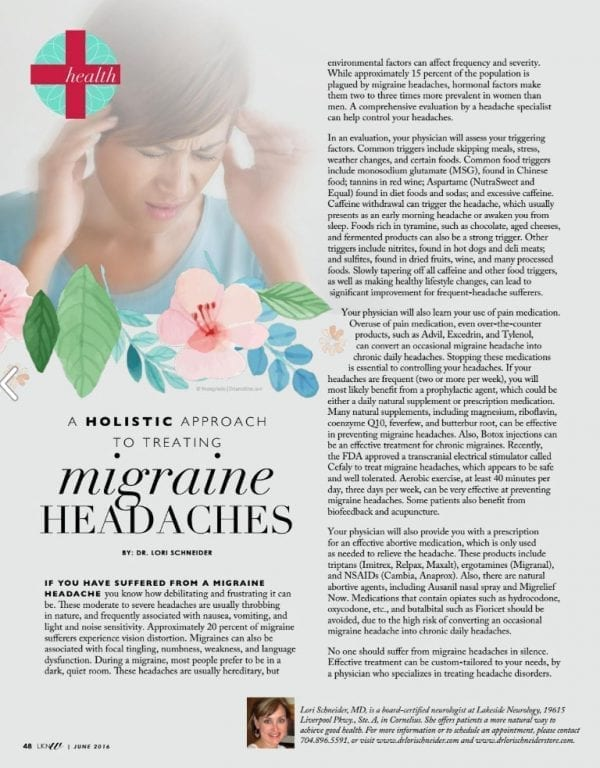 Lake Norman Woman Magazine Article